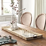 Wayfair x Kelly Clarkson Home Hadley Ottoman/Coffee Table Tray