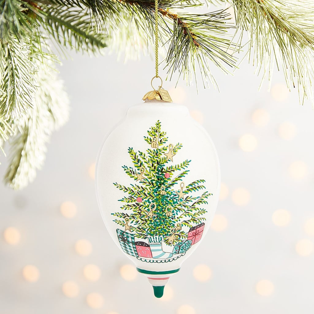 Li Bien Tree and Presents Drop Ornament