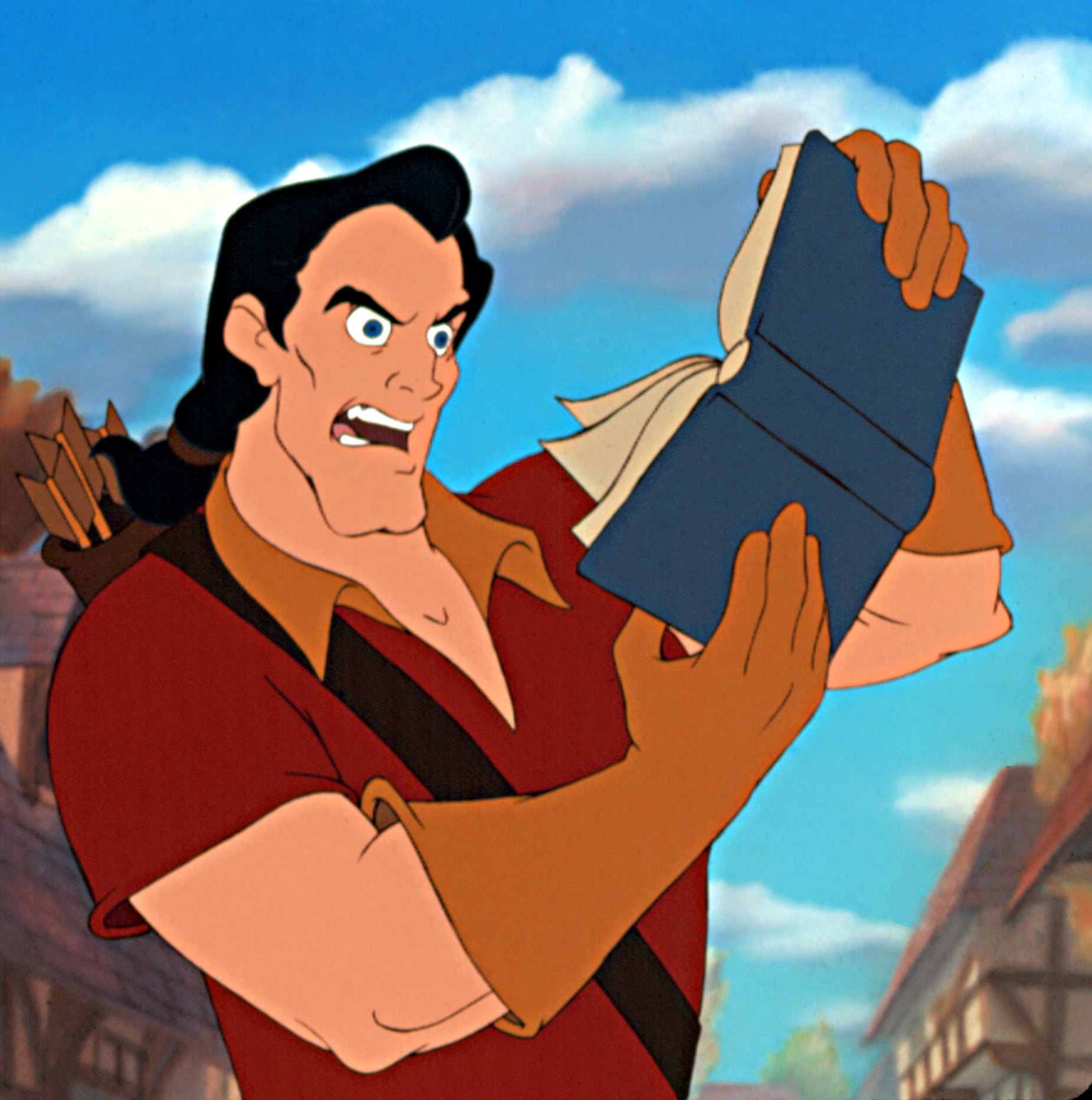 Gaston From Beauty And The Beast This Tiktok Artist Reimagined Disney Villains As Princesses And It S Outrageously Fun Popsugar Smart Living Photo 5