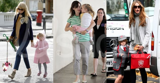 Celebrity Moms Setting the Dress Code for School Drop Offs