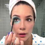 Halsey s Glittery Manic Bruise Is  Like a Badge of Honor  - Here s How She Creates the Look