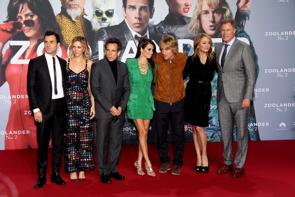 She posed alongside her Zoolander 2 costars.