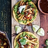 BBQ Margarita Chicken Tostadas