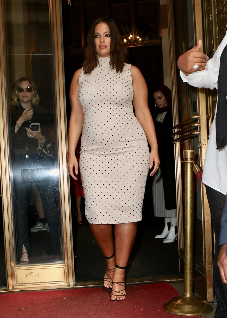 Ashley Graham at the Christian Siriano Show