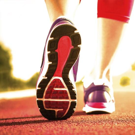Track Running Workout: Intervals