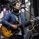 Andrew Bird performed in the early evening of the first day.