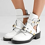Balenciaga Buckled Ankle Boots