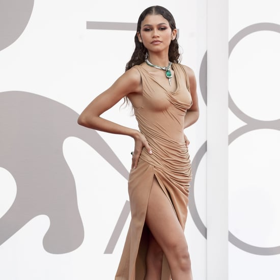 Zendaya's Wet-Look Balmain Dress at the Venice Film Festival