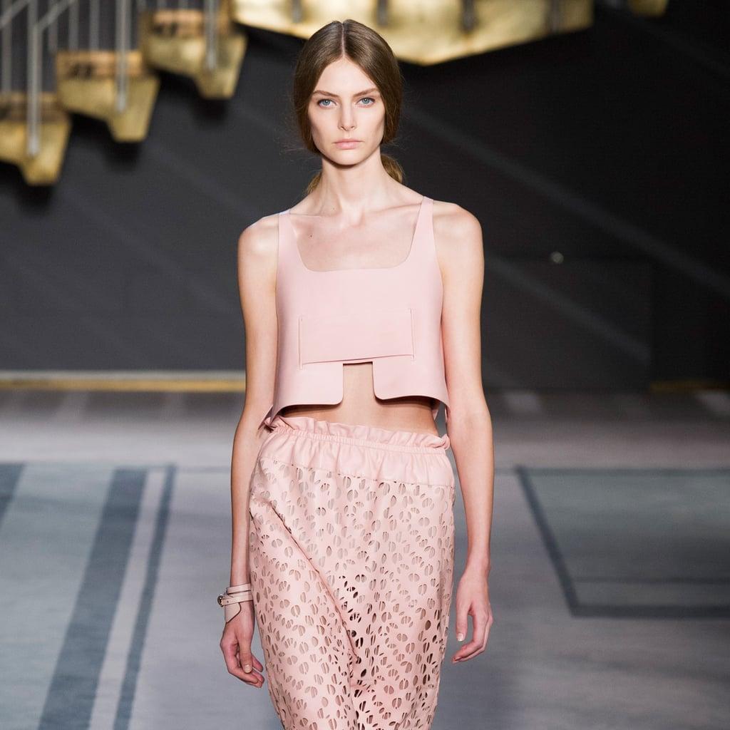 2014 Spring Milan Fashion Week: Tod's Run, Leather