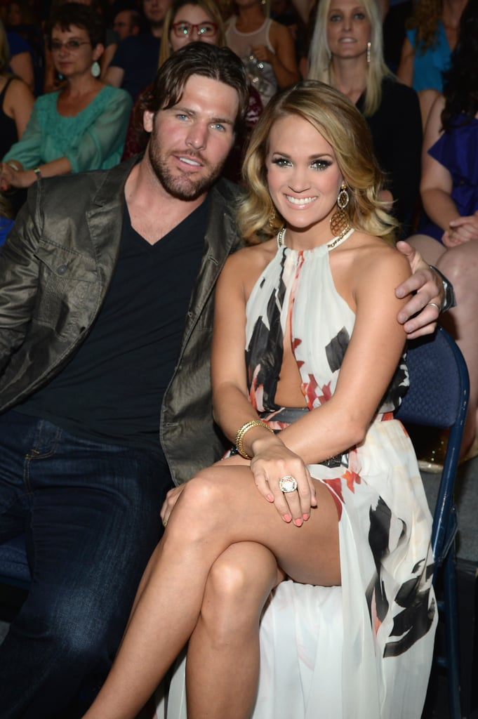 The pair stuck close in their seats at the 2014 CMT Music Awards.