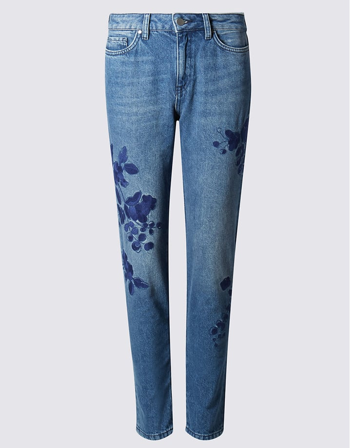 Marks and Spencer Embroidered Jeans ($58)