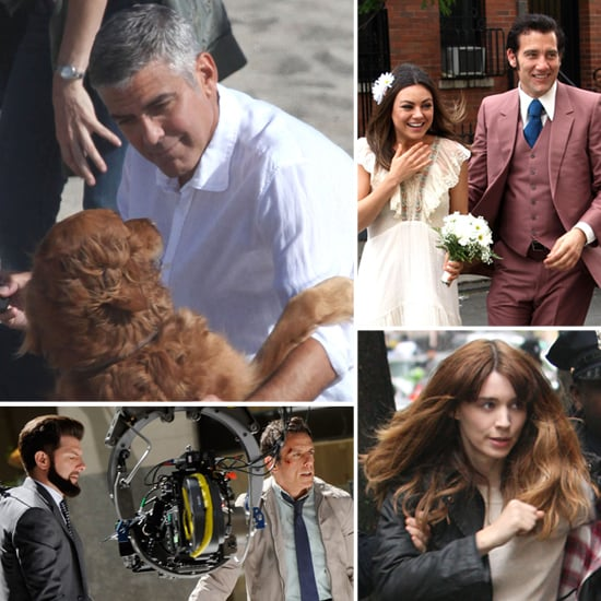 Pictures of Celebrities on Set May 18, 2012