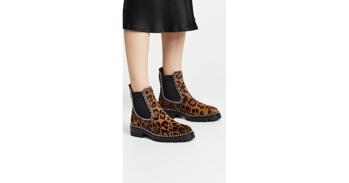 b977bdf35eb Alexander Wang Spencer Ball Chain Chelsea Boots | Boots Trends Fall ...