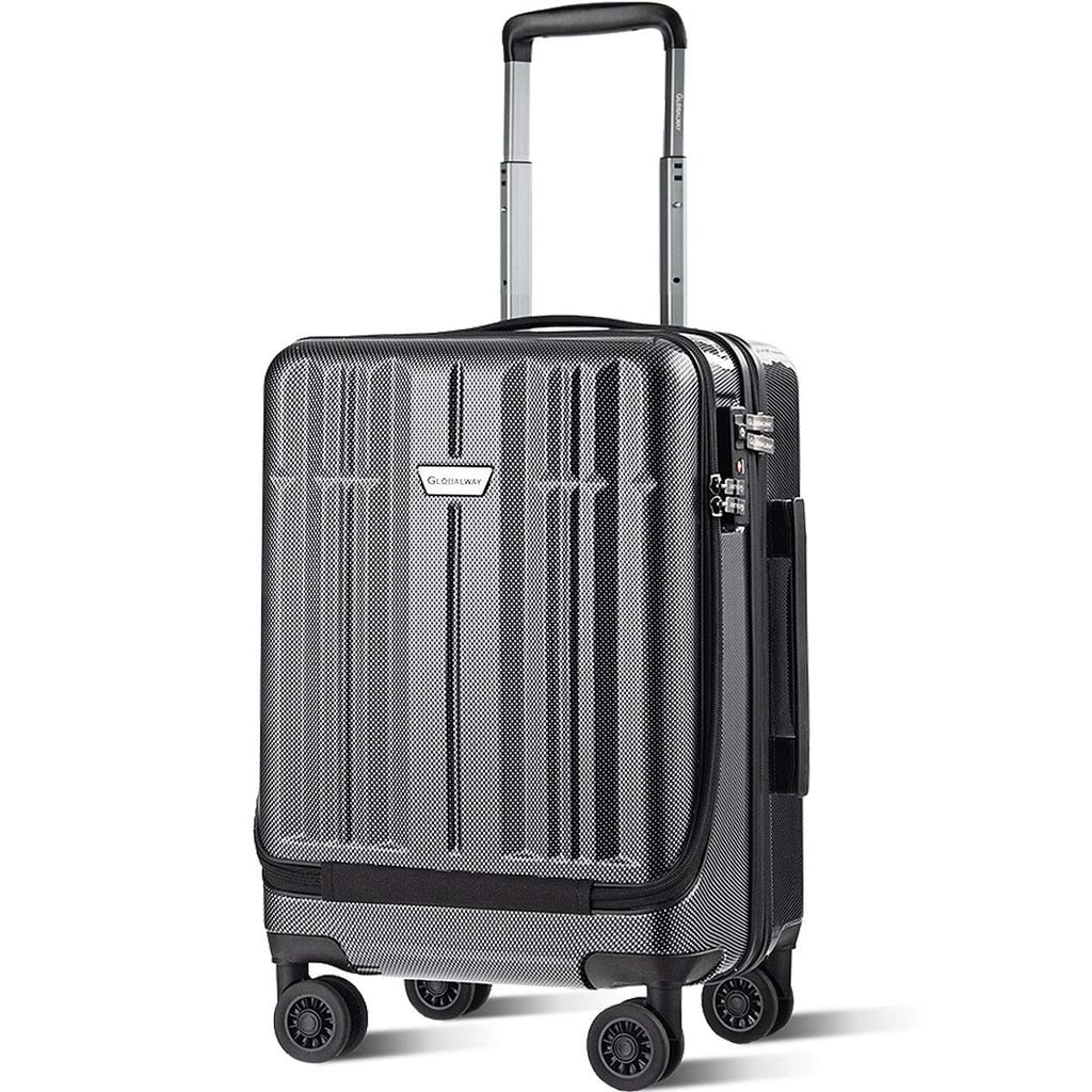 "Costway 20"" Front Pocket Carry On Luggage"