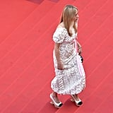 Chloë Sevigny Walked the Steps in Her Sophisticated Chanel Wedges