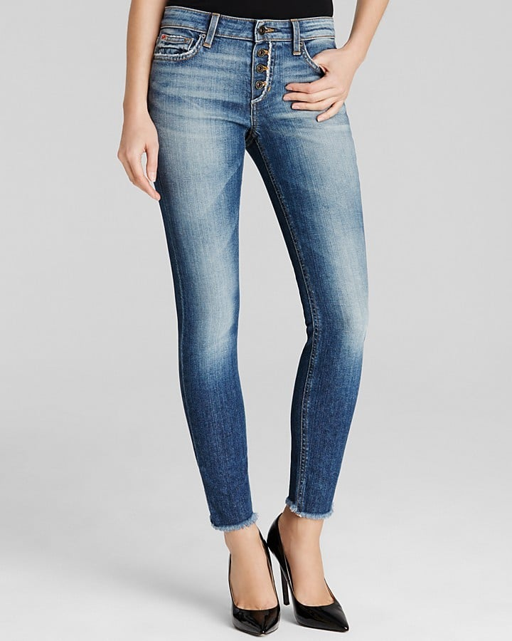 Joe's Jeans Skinny Ankle Raw Hem Jean ($165)