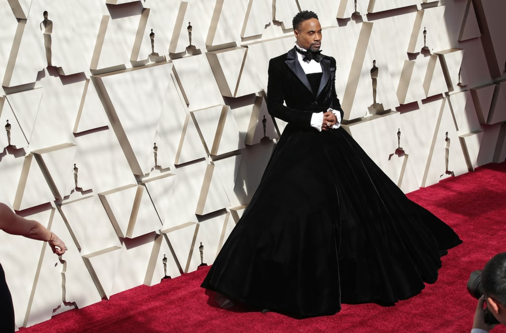 Oscars 2019: Billy Porter Christian Siriano Gown At The 2019 Oscars
