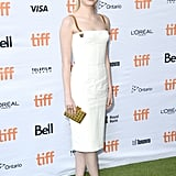 Emma Stone at the Battle of the Sexes Premiere at the Toronto International Film Festival in 2017