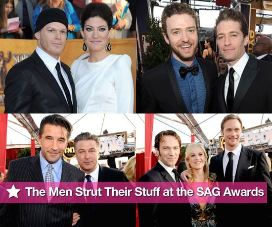 Photos of the Men on the Red Carpet at the 2010 Screen Actors Guild Awards