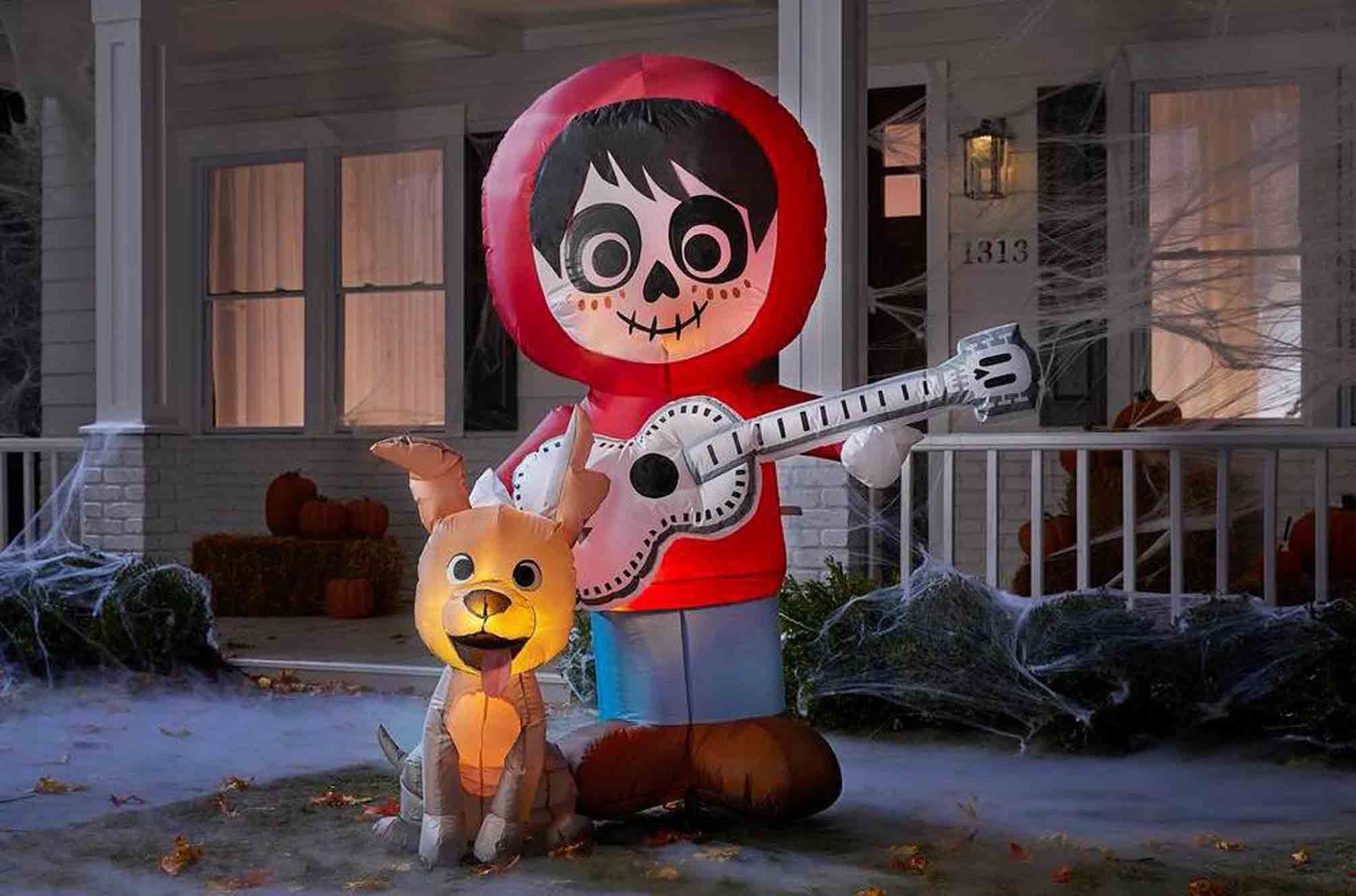 Disney S Coco Halloween Lawn Inflatable From The Home Depot Popsugar Family