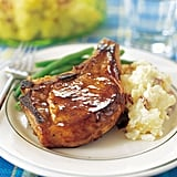 Whiskey-Glazed Pork Chops