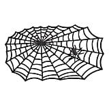Rubber Spider Web Doormat
