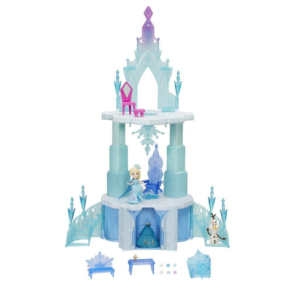 For 4-Year-Olds: Disney Frozen Little Kingdom Elsa's Magical Rising Castle