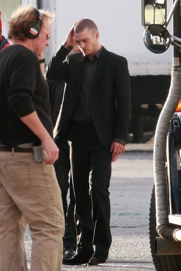 Pictures of Justin Timberlake on the Set of Now in Downtown LA