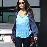 Mila Kunis ran errands around LA.