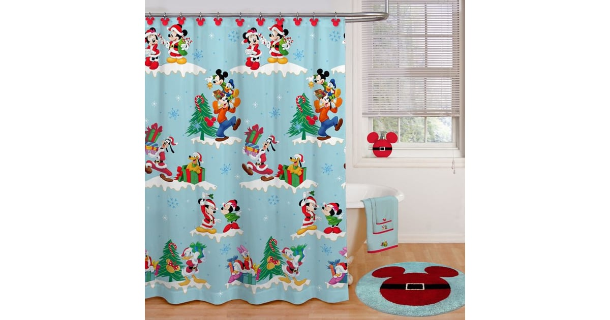 Disney Holiday 72 Inch X 70 Shower Curtain
