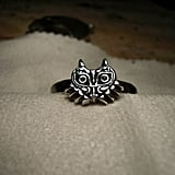 Legend of Zelda Majora's Mask Silver Ring (starting at $100)