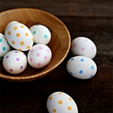 Perfect Polka Dot Eggs