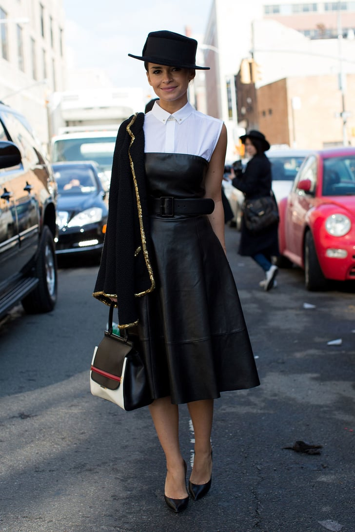 Wear Your Shirt Under a Dress How to Change Up Your