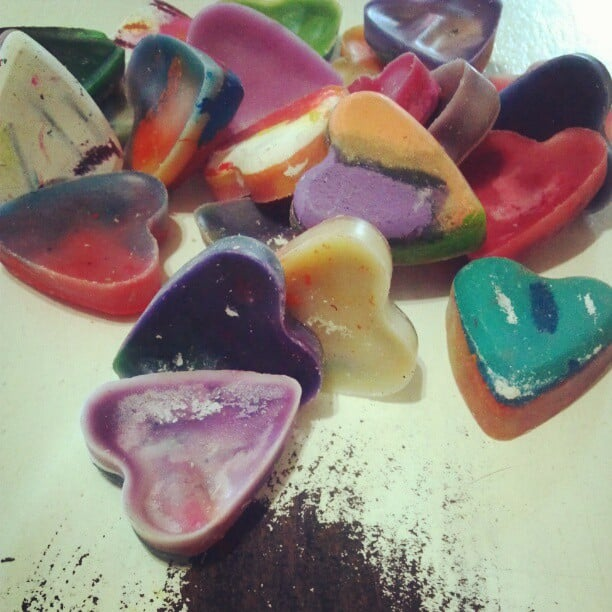 Crafting Crayon Hearts