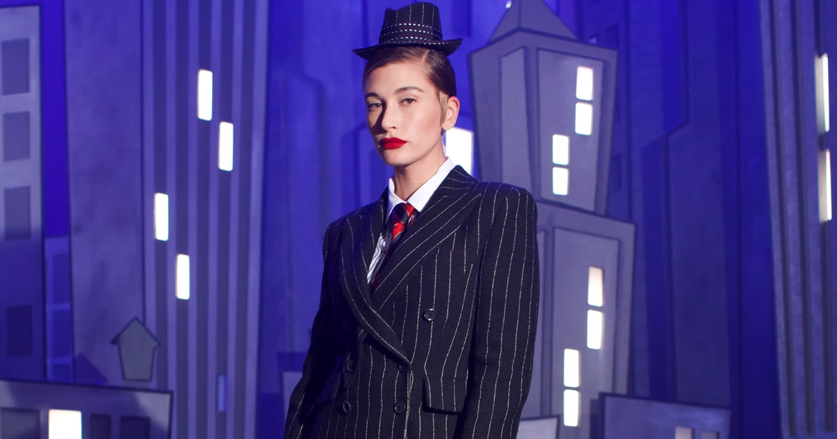 """Hailey Bieber Makes Her Seasonal Fashion Week Debut For Moschino in the Brand's """"Jungle Red"""" Film.jpg"""