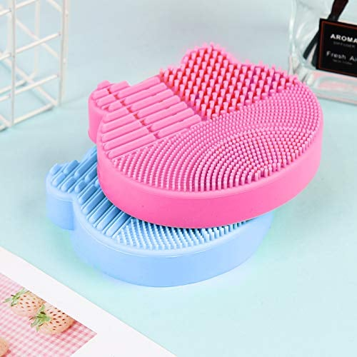 Silicone Cleaning Mat and Drying Rack For Makeup Brushes
