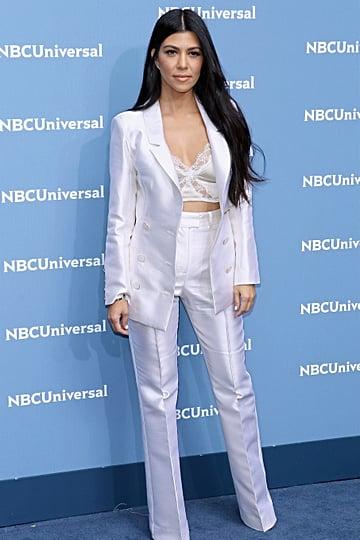 Kourtney Kardashian Pantsuits