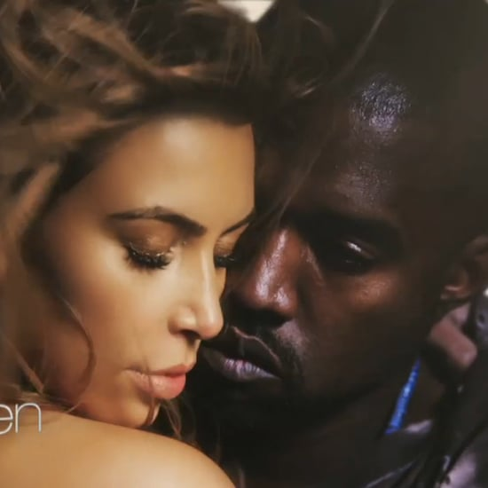 Kim Kardashian Topless in Kanye West's New Video