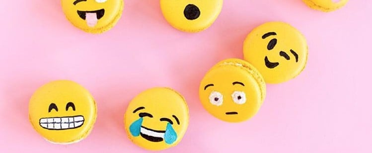 Emoji Macarons Just Might Be the Cutest Effing Dessert We've Ever Seen