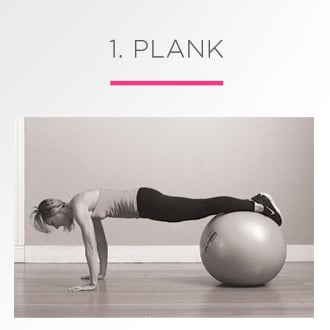 Exercises With A Stability Ball