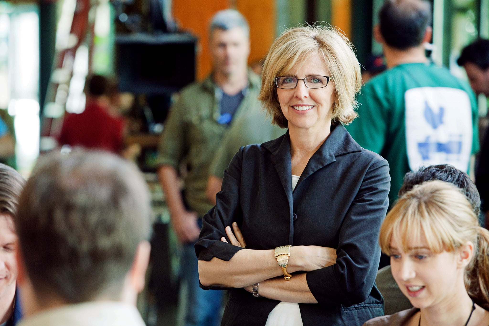 IT'S COMPLICATED, director Nancy Meyers, on set, 2009. Ph: Melinda Sue Gordon/Universal/Courtesy Everett Collection