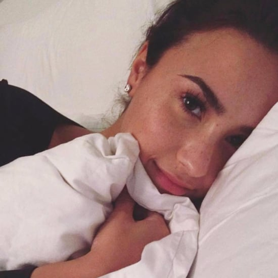 Demi Lovato No-Makeup Selfies