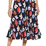 Halogen® Pleated Midi Skirt