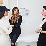 Kim Kardashian Visits CosmeSurge in Dubai | January 2017