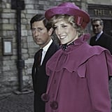 The young pair arrived at Westminster Abbey in London for a special service in 1982.