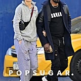 Katie Holmes and Jamie Foxx Holding Hands in NYC April 2019