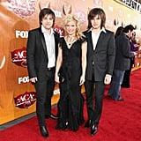 The Band Perry at the American Country Awards.