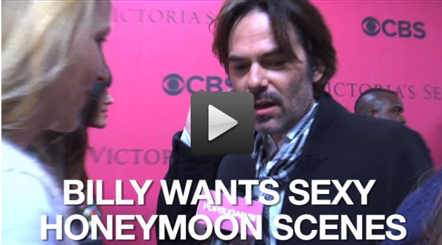 Video of Billy Burke Talking About the Breaking Dawn Honeymoon Scenes at the Victoria's Secret Show