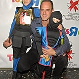 Chris Meloni, Daughter Sophia, and Son Dante