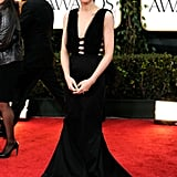 Rooney Mara picked Nina Ricci for January's Golden Globes in LA.